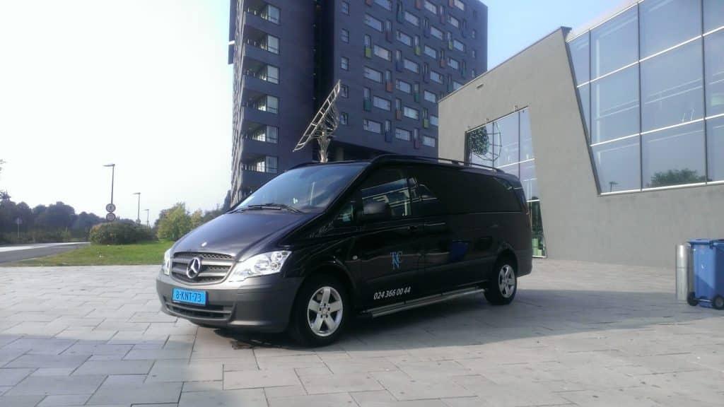 Contact met Taxi Centrale Nijmegen